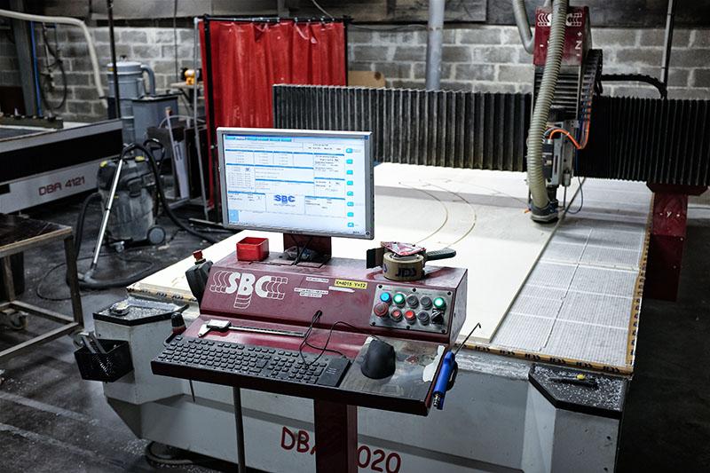 Table de découpe SBC 4000 x 2000 - Sté JDS