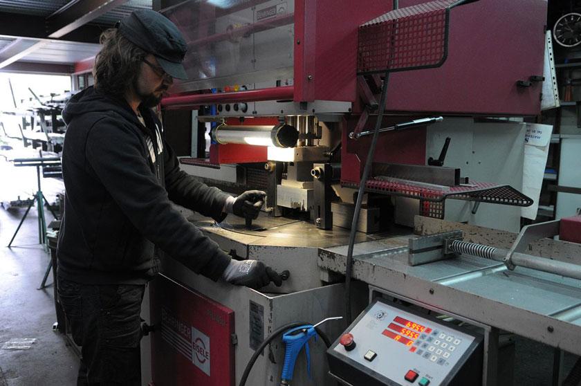 Fraise Scie Eisele semi-Automatique pour la découpe des tubes inox et acier